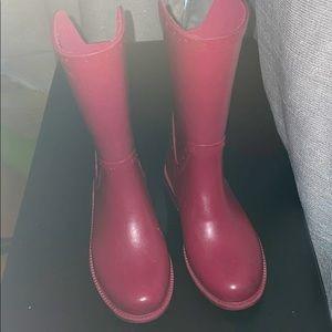Zara girls rain boots